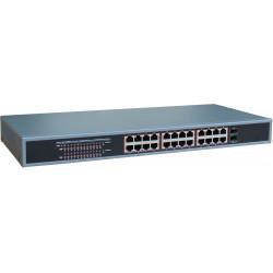 24 Ports 10/100/1000Mbit...
