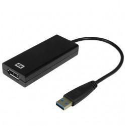 4K USB 3.0 grafikkort til...