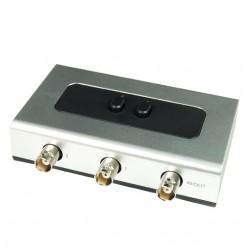 2-ports manuel mekanisk BNC...
