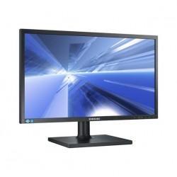 """24"""" sort LCD skærm med..."""
