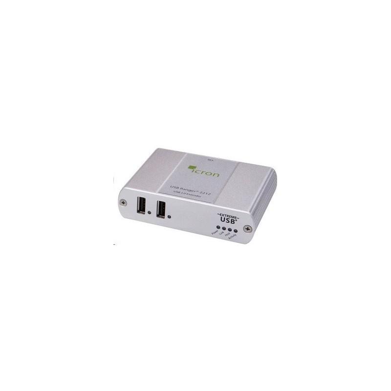 2 ports USB booster/ extender op til 100m