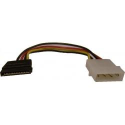 SATA strømadapter. Kabel:...
