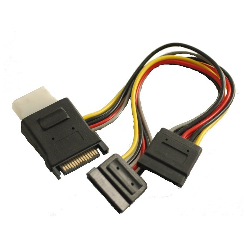 SATA strømkabel til SATA - Molex