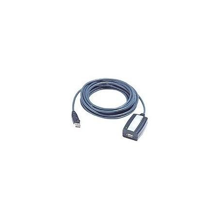 5m forlængerkabel til USB2.0 med forstærker, USB A han/hun-stik