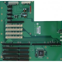 Buskort PICMG1.3 med 4 x PCI, ISA 4 x og 6 x PCIexpress