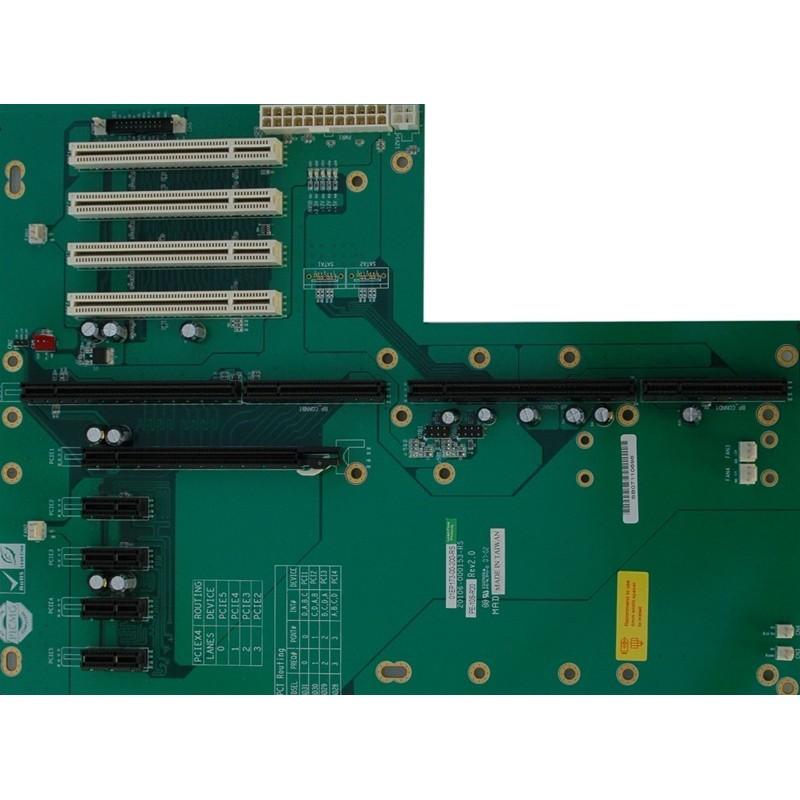 Buskort 1 x PICMG1.3, 4 x PCI, 4 x PCIE X1, 1 x PCIE X16