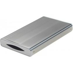 """Kabinet til 2½"""" SATA harddisk, USB3.0"""