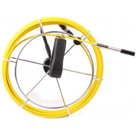 ønskes et kamera på 12 mm i diameter benyt KAM-INSP-DVR-P-K