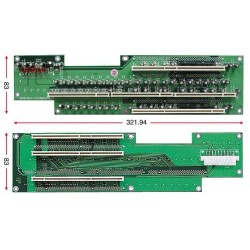Busskort med 5x PCI - X , 2U