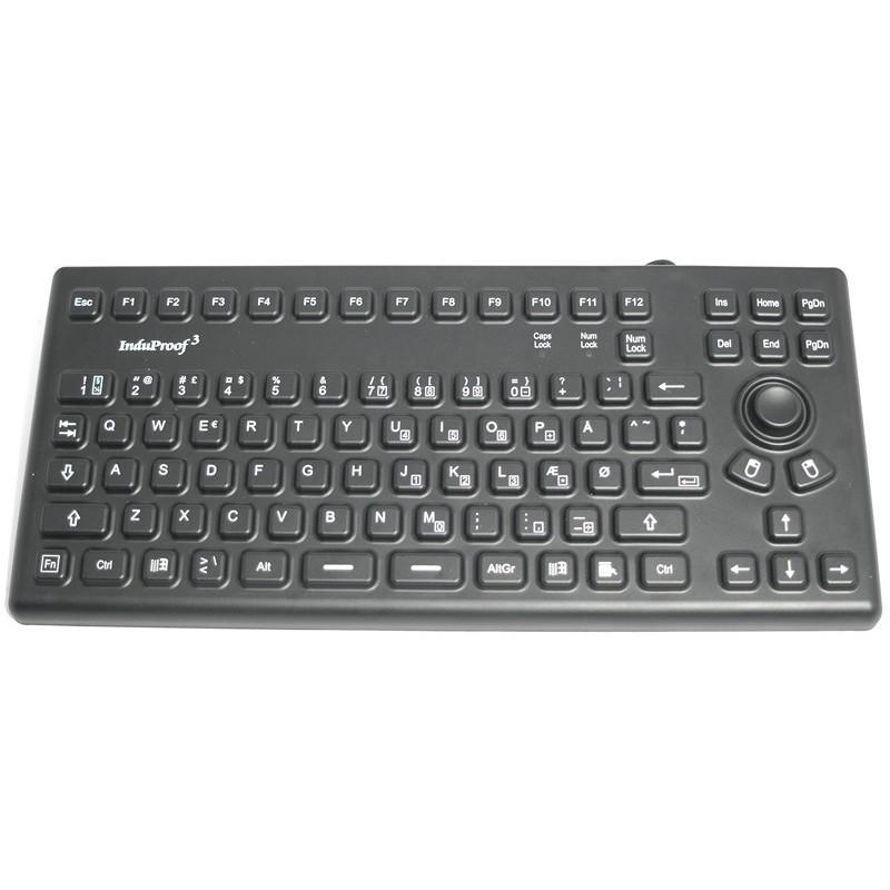 IP68 støv- og vandtæt mini tastatur, USB