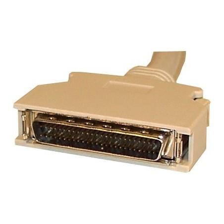 SCSI III wide kabel. Mini DB50 han – Mini DB68 han, 1,5 meter