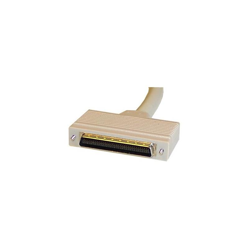 SCSI II Bred KABLAR. Mini CEN 68 hane - Mini DB68 hane, 1,5 meter