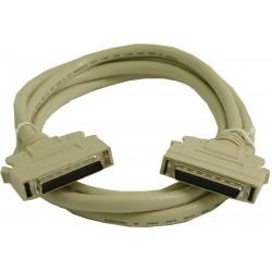 SCSI II kabel, Mini DB50 han, Mini DB50 hun 1,5 meter