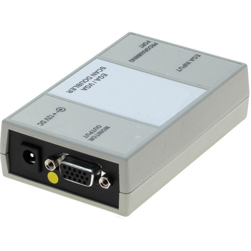 CGA, EGA eller MDA til VGA adapter. Tilslut en VGA skærm til et EGA, CGA eller MDA skærmkort