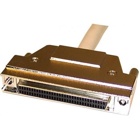 WIDE SCSI forlænger kabel, 1,5 meter. Mini DB68 han – Mini DB68 hun