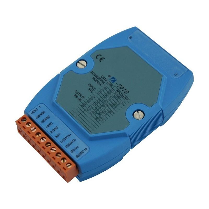 1 x Temperaturmåling med pt100 og Ni RTD temperaturføler, 16bit, RS485 bus