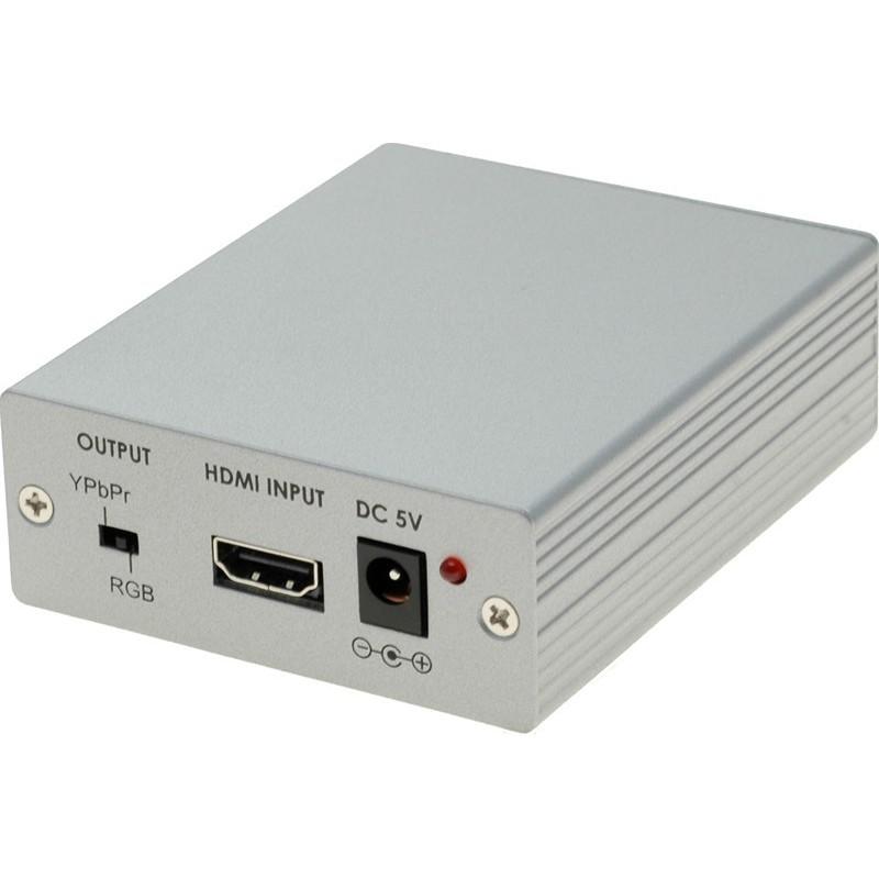 HDMI till VGA och Component omvandlare