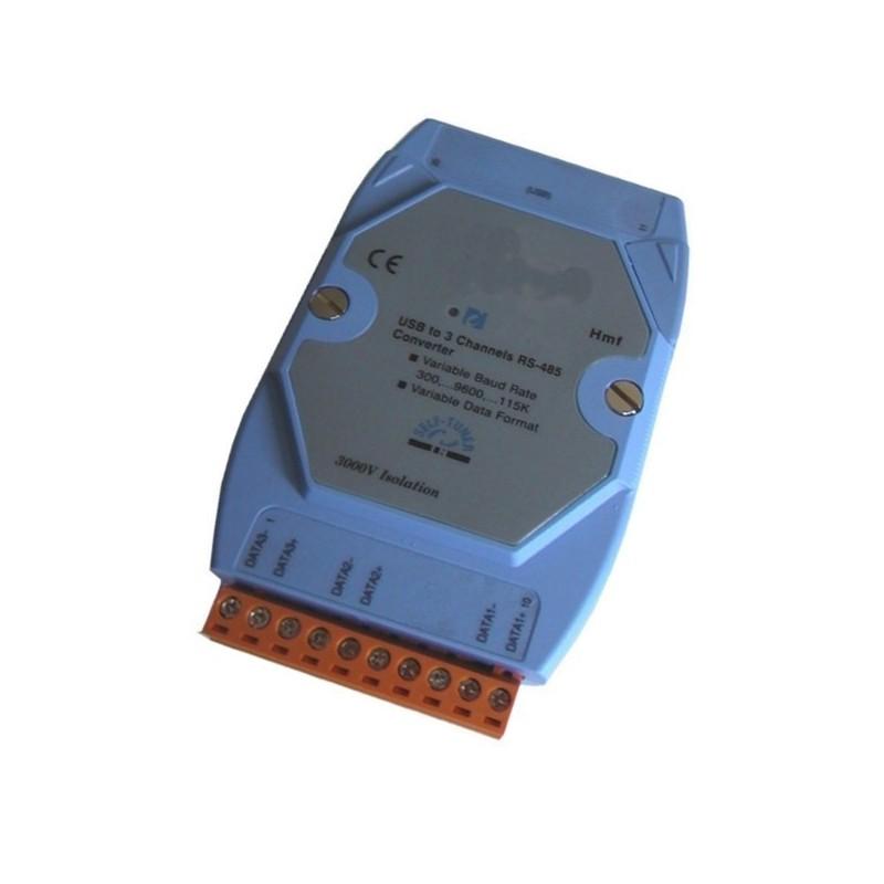 USB port til 1 x RS232, RS422 eller RS485 konverter
