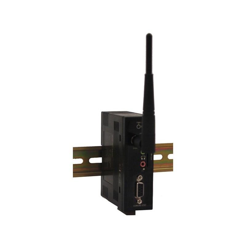 GSM modem til AT-kommandoer, med lyd, DIN montering