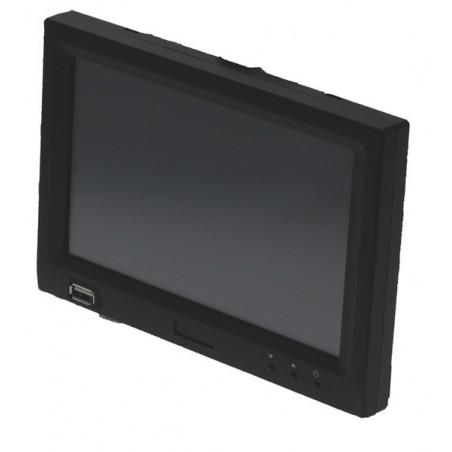 "7"" LCD touch monitor m/USB grafikkort indbygget"