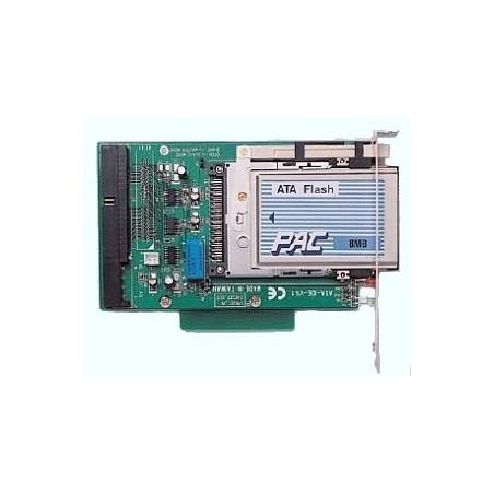PCMCIA flash memory læser med IDE