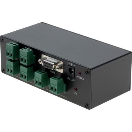 RS232 / RS485 seriel splitter boks med 4 x RS485