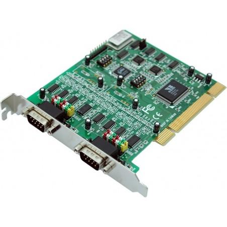 2 x RS232 / 422 / 485 seriel porte til PCI, 2 x DB9 han