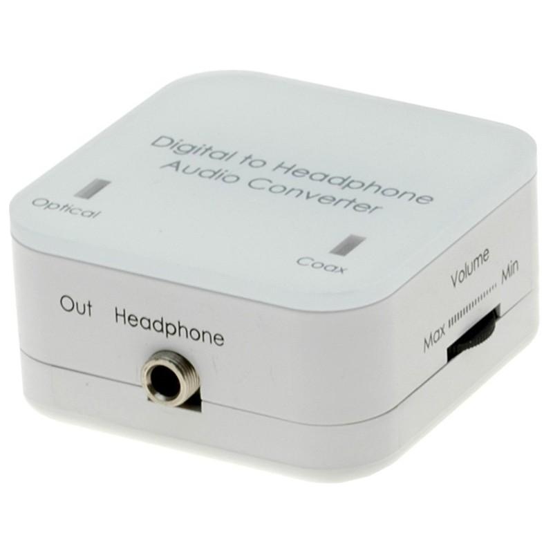 Digital til analog audio - Toslink og Coax til Jack