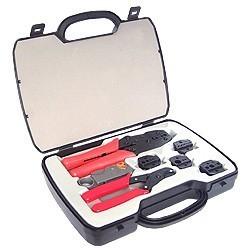 BNC/ COAX værktøjssæt med...