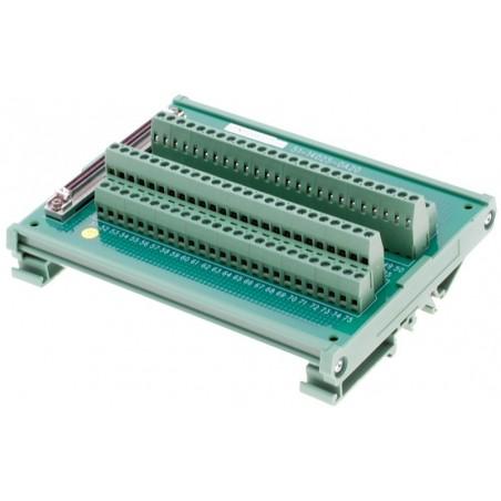 Interface terminal kort Adlink DIN-100S-01. Terminalkort med 100 skrueterminaler