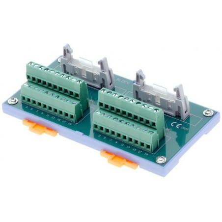 Interface Terminalkort med 2x20 skrueterminaler
