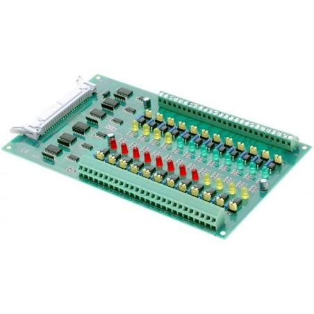 Interface terminal kort med 24 optoisoleret indgange