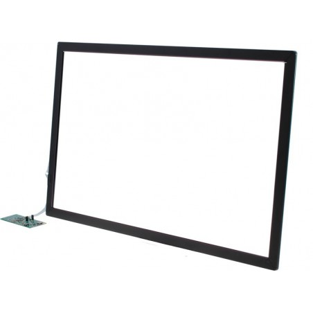 "24"" Multi touch panel, 10 punkter, USB interface"