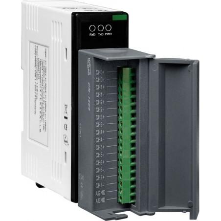 8 x spænding- og strømmåling via USB, +/-10V, 0-20mA, 16bit opløsning