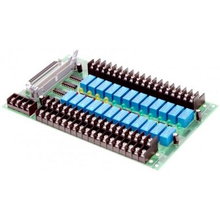 Interface board med 24 relæudgange 250V, 1A