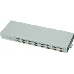 Konv. USB t. 16x RS232 rack