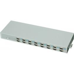 USB til 16 x RS232 konverter - rack montering kit