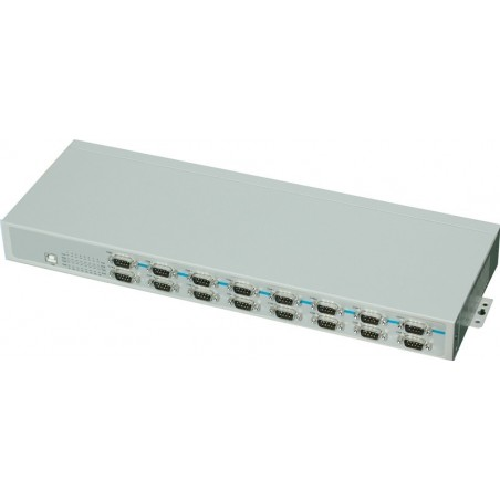 USB til 16 x RS232 adapter - rack montering kit