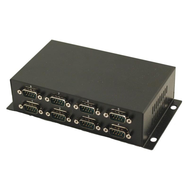 USB til 8 x RS232 adapter - USB kabel medfølger