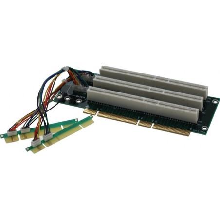 Vinkelstik til PCI - 3 x PCI slot - 64bit