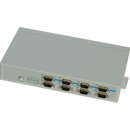 USB til 8 x RS232/RS422/RS485 adapter
