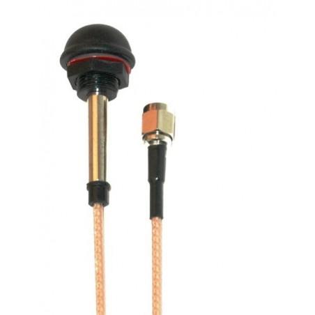 0 dBi 2,4GHz PUK-antenne, RSMA han stik