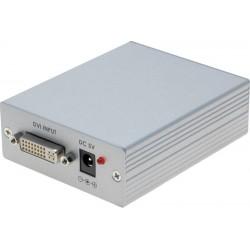 DVI-D til VGA konverter,...