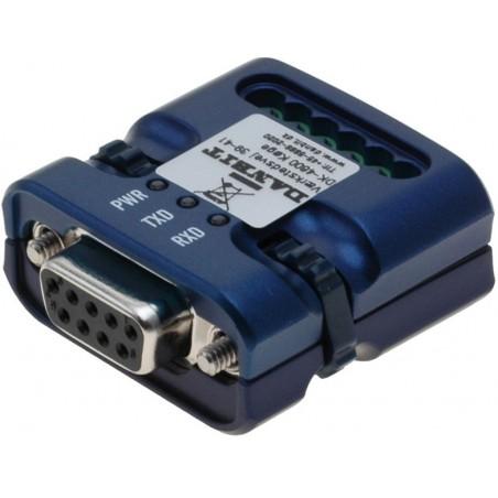 RS232 til RS422/485 konverter. Kan strømforsynes fra COM portens kontrolsignaler