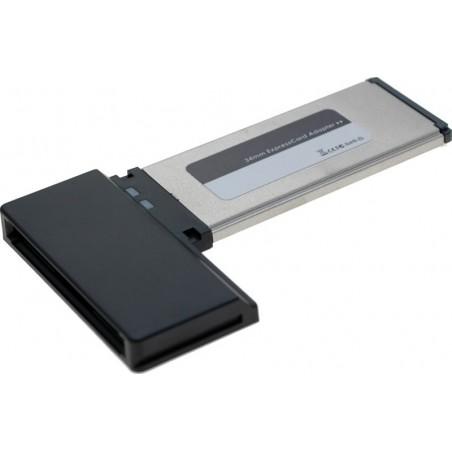 ExpressCard/34 adapter til PCMCIA gør det muligt at bruge PCMCIA i PCér kun med expresscard/34