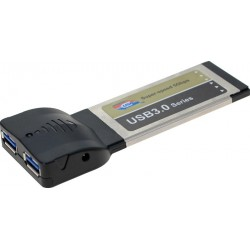 ExpressCard med 2 x USB 3.0...