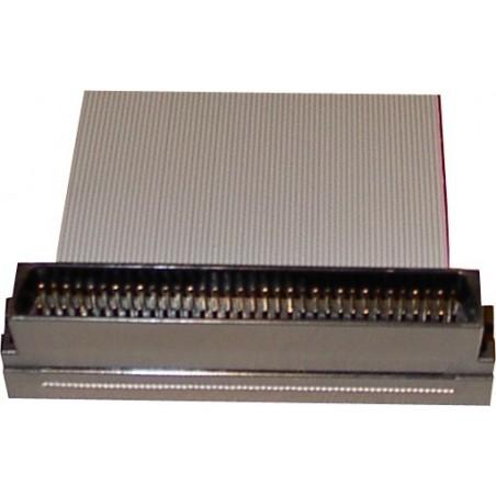 SCSI fladkabel, Mini DB68 han, 8 stik, 1,20 m, rundt