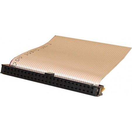 SCSI fladkabel IDC50 hun, 5 stik, 0,75 m, rundt