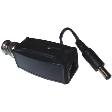 Power injektor og BNC han til Video og strøm gennem et PDS kabel