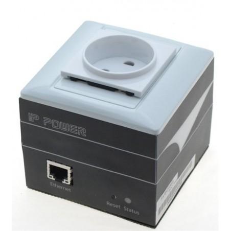 """Tænd og sluk udstyr via netværket - """"IP ping til auto-reset"""", 230VAC - måler forbrug og temperatur."""
